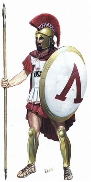 Athenian soldier